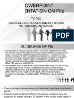 Powerpoint Presentation on FII