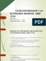 Ppt-el Sector Exportador y La Economia Mundial 1850-1914