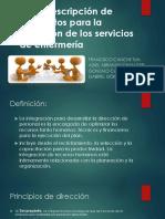 Descripción de Elementos Para La Dirección de Los Servicios de Enfermería