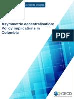 Asymmetric decentralisation