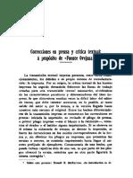 Correcciones en Prensa y Critica Textual a Proposito de Fuente Ovejuna