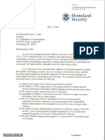 Department of Homeland Security - Letter Regarding Suspension of Air Service to and From Venezuela (1)