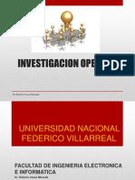 investiGacionde de operaciones