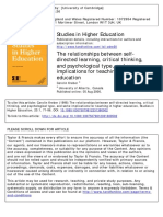 self directed learning and psy type.pdf