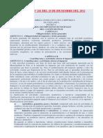 Ley 9017 Ley de Patentes o Tarifa de Impuestos de La Municipalidad de Poas