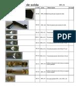 Metal Tochas Roletes e Peças