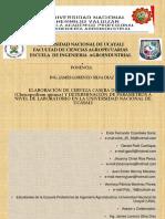 ELABORACIÓN DE CERVEZA CASERA DE QUINUA (Chenopodium quinoa) Y DETERMINACIÓN DE PARÁMETROS A NIVEL DE LABORATORIO EN LA UNIVERSIDAD NACIONAL DE UCAYALI