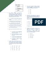 Evaluacion Sintesis de Proteinas