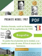 Premios Nobel 1987