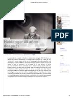 Heidegger 40 Años Después _ RevistaPaco