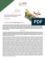Convocatoria Movilidad-Int Sep-unam 2019