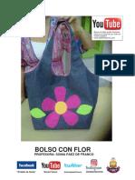Molde Del Bolso Con Flor