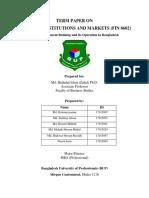 Fin Market Term Paper