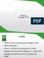 Lenguaje HTML (1)