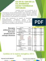 TENDENCIA DE LAS ENERGIAS RENOVABLEA