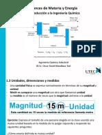 1.3 Unidades, Dimensiones y Medidas