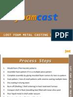 Foamcast Process