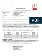WI 4134 Inspection Certificate