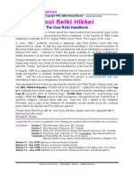 Rivard Richard. - Usui Reiki Hikkei. the Usui Reiki Handbook (Ang.)