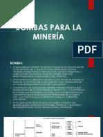 Bombas Para La Minería