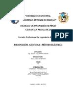 Prospección Geofísica - Método Eléctrico.docx