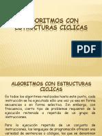 ALGORITMOS CON ESTRUCTURAS  CICLICAS.ppsx