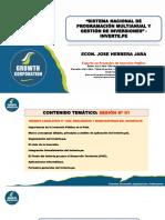 0. Presentación PPT - Decreto Legislativo N° 1252, Modificatorias