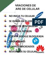 REPARACIONES DE SOFTWARE DE CELULAR.docx