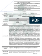 Programa de Formación Técnico en Sistemas