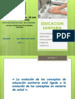SEMANA 1 - EDUCACION SANITARIA - 2012-II (Ing San).ppt