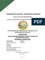 INFORME DE ANALISIS FISICO QUIMICO PROXIMAL DE LA HARINA DE QUINUA.docx