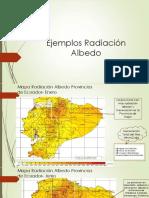Ejemplos Radiación Albedo
