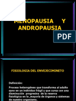 ANDROPAUSIA Y MENOPAUSIA