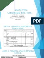 Norma Técnica Colombiana NTC 4116