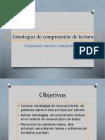 PPT 1 Estrategias de Comprensión