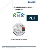 CO KNX 002 Manual Usuario