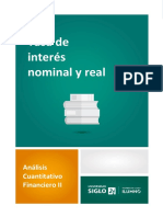 Tasa de Interés Nominal y Real