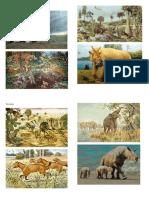 diferentes periodos prehistoricos, 4 imagenes por periodo.docx