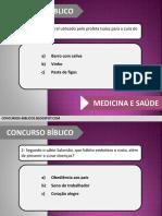 Concurso Biblico Sobre Medicina e Saúde.pptx