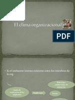 El clima organizacional.pptx