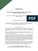 Acuerdo Estatuto Tributario 031