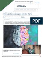 Neuroestética_ Ciencia Para Entender El Arte - La Mente Es Maravillosa