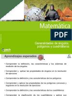 Clase 1 MT22. Generalidades de ángulos, polígonos  y cuadriláteros 2016.ppt