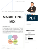 Marketing Mix Las 4ps