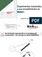 EXPERIMENTOS INDUSTRIALES Y SU ANALISIS CON MINITAB.ppt