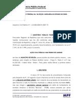 Acao MPF Restauracao Conservacao Palacio Antonio Lemos Belem-PA