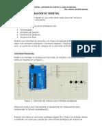Conversor Analógico Digital, Contador de Eventos y Pwm Arduino