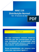 Aula 6 FEA2018 - Distribuição Normal