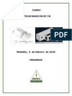 Curso Autocad Basico 2d y 3d Fines de Semana