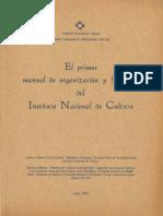 INC - El primer manual de organización y funciones del Instituto Nacional de Cultura.pdf